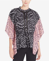 Catherine Malandrino Komai Butterfly-Sleeve Illusion Blouse