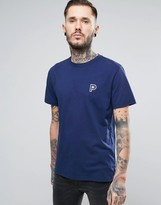 Penfield Perris Small Logo T-Shirt in Navy
