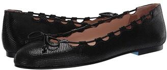 French Sole Nicky Hilton - Charlott (Black Viper Print) Women's Shoes