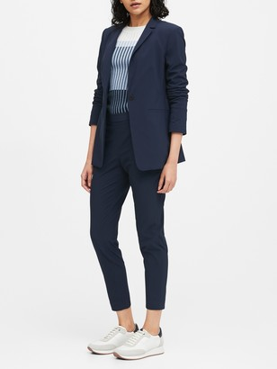 Banana Republic Long & Lean-Fit Performance-Stretch Blazer