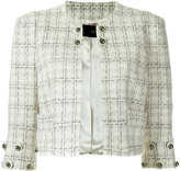 Andrea Bogosian - tweed jacket - women - Acrylic/Polyester/Wool - P