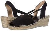 Andre Assous Dainty (Black Suede) Women's Sandals