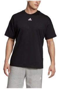 adidas Men's Back Shoulder 3-Stripe Regular Fit T-Shirt