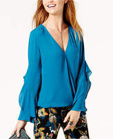 INC International Concepts Petite Surplice Top, Created for Macy's