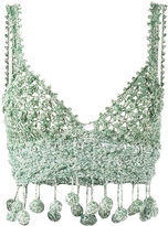 Rosie Assoulin crochet crop top - women - Cotton - M