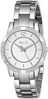 Fossil Relic Women's ZR34201 Payton Glitz Silver-Tone Watch