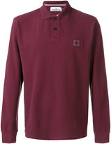Stone Island long-sleeved polo shirt