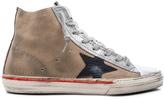 Golden Goose Deluxe Brand Suede Francy Sneakers