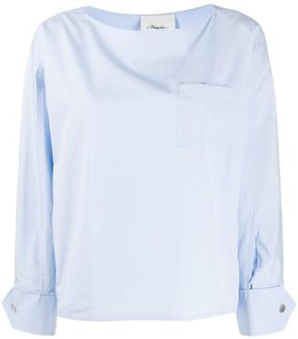 3.1 Phillip Lim chest pocket blouse