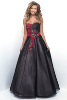 Blush Lingerie Floral Embroidered Sweetheart Ball Gown 5605