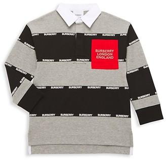 Burberry Little Boy's & Boy's Colorblock Polo Shirt