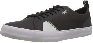 Sperry Men's Flex Deck Ltt Canvas Sneaker black 10 Medium US