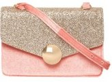 Dorothy Perkins Womens Blush and Gold Lock Cross Body Bag- Pink