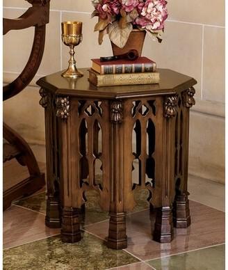 Toscano Design Gothic Revival End Table Design
