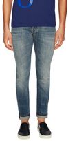 Christian Dior Cotton Faded Slim Fit Jeans