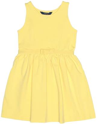 Polo Ralph Lauren Cotton-blend dress