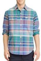 Polo Ralph Lauren Plaid Casual Button-Down Cotton Shirt