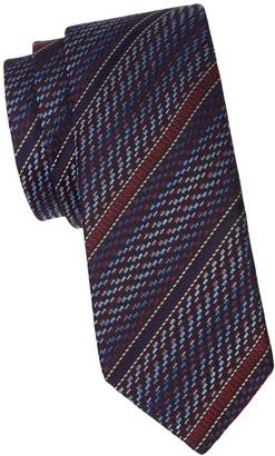 Missoni Logo Stripe Silk Tie