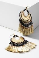 Shiraleah Daria Fringed Drop Earrings