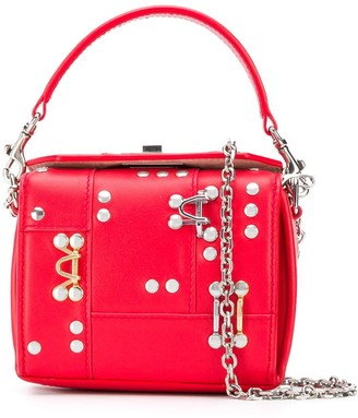 Alexander McQueen Studded Box Mini Bag
