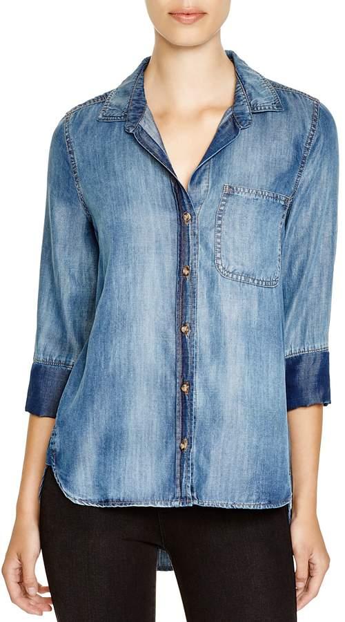 Bella Dahl Chambray Button-Down Shirt
