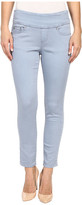 Jag Jeans Amelia Ankle Pigment Dyed Knit Denim in Blue Wonder