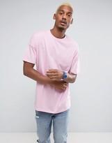 Asos Oversized T-Shirt In Skater Pink