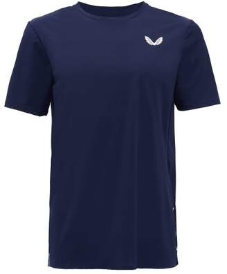 Castore - Reflective-logo Training T-shirt - Mens - Navy White
