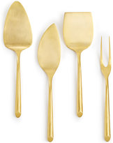 Hotel Collection 18/0 Stainless Steel 4-Pc. Gold-Tone Cheese Serving Set