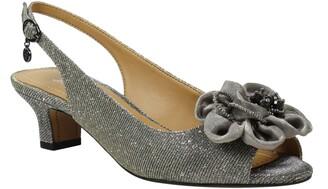 J. Renee Leonelle Slingback Kitten Heel Sandal