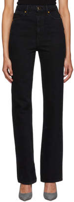 KHAITE Black The Danielle Jeans