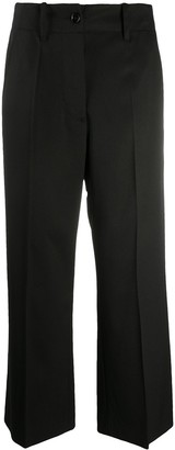 MM6 MAISON MARGIELA Cropped Wide-Leg Trousers