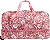 Vera Bradley Lighten Up Large Wheeled Duffel Wheel