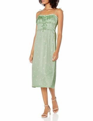 For Love & Lemons Women's Robin MIDI Dress Cocktail