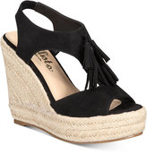 Callisto Edith Espadrille Platform Wedge Sandals
