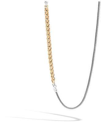 John Hardy Asli Classic Chain Link Reversible Necklace