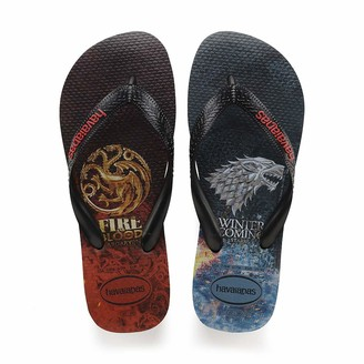 Havaianas Unisex's Top Game of Thrones Flip Flop Sandal