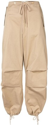 Dion Lee Oversized Drawstring Trousers