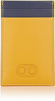 Salvatore Ferragamo Men's Colorblocked Card Case-YELLOW