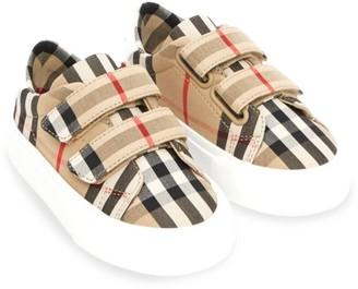 Burberry Baby's & Little Kid's Mini Markham Check Sneakers