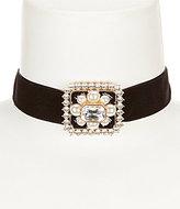 Natasha Accessories Carole Choker Necklace