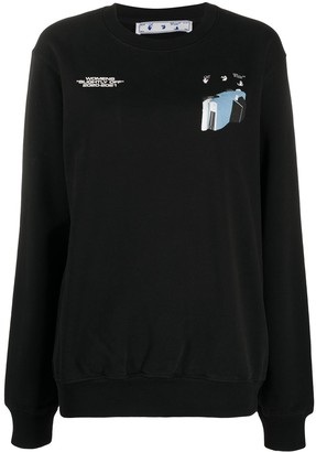 Off-White Cars print sweatshirt
