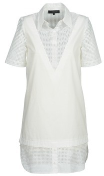 American Retro CHARLOTTE women's Dress in White
