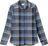 RVCA Women's Pops Long Sleeve Woven Shirt