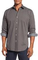 Bugatchi Classic Tall Fit Sport Shirt