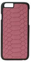 GiGi New York Full-Grain Python Embossed Leather iPhone 6/6S Case