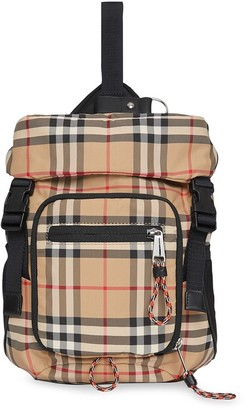 Burberry Vintage Check Nylon Leo Belt Pack