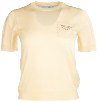 Prada Logo Printed T-Shirt
