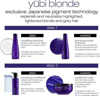 shu uemura Yubi Blonde Nourishing Shampoo for Blonde Hair