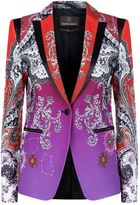 Roberto Cavalli Degradé Chantilly Blazer